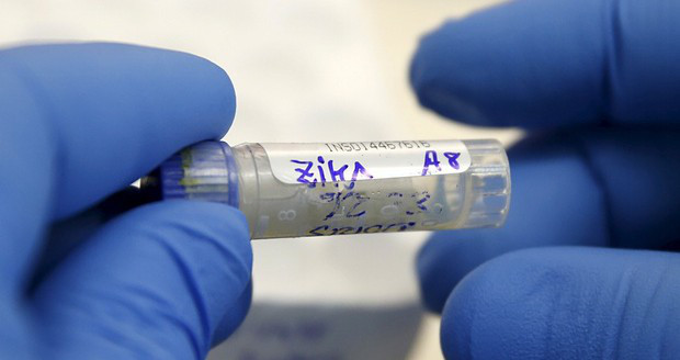 zika test tube